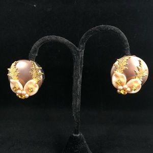 LERU Vintage Earrings - Clip